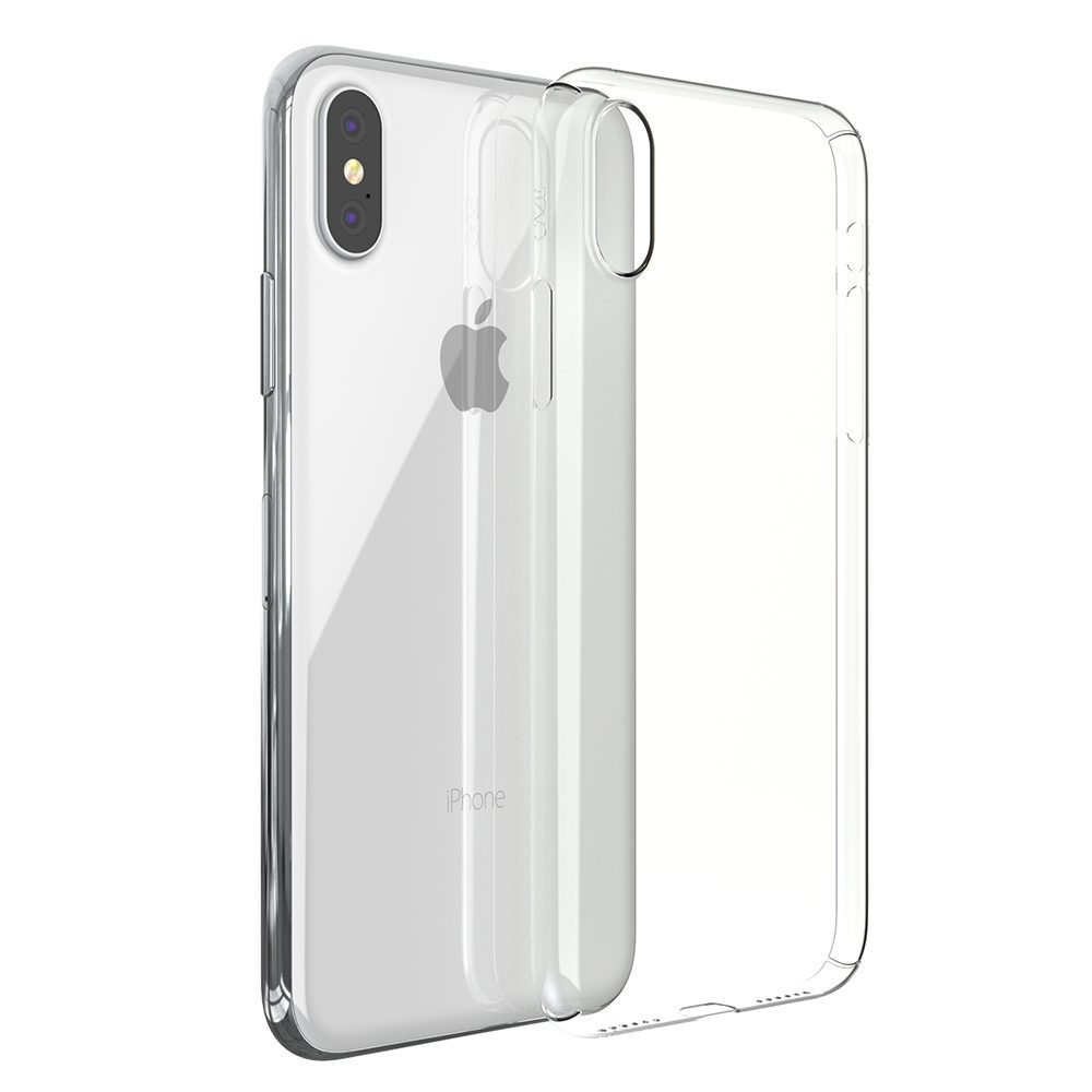 ZERO5 iPhoneX 10 1000x1000 Coque ZERO 5 pour iPhone 6/6S, 7, 8, X & Plus (rigide, transparente et ultra fine de 0.5mm)