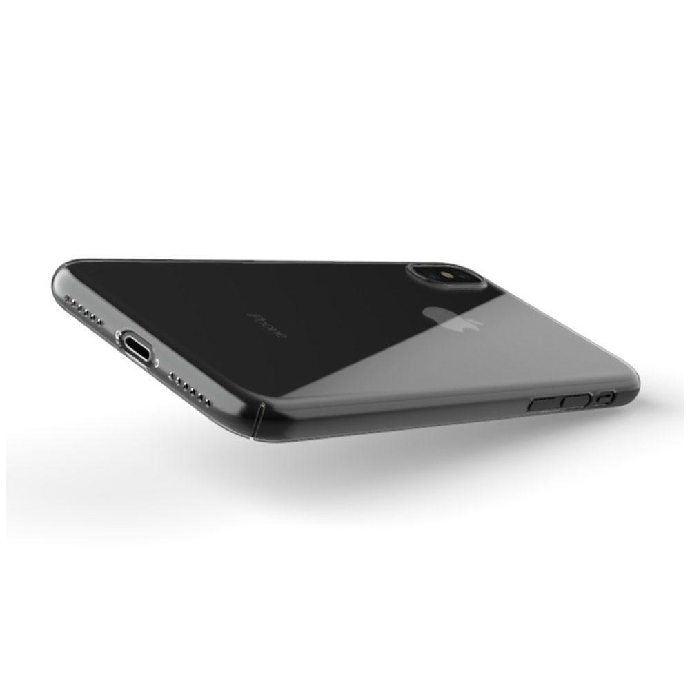 ZERO5 iPhoneX 2 1000x1000 Coque ZERO 5 pour iPhone 6/6S, 7, 8, X & Plus (rigide, transparente et ultra fine de 0.5mm)