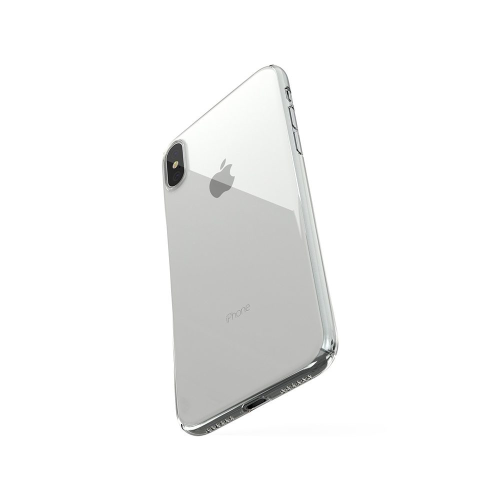 ZERO5 iPhoneX 6 1 1000x1000 Coque ZERO 5 pour iPhone 6/6S, 7, 8, X & Plus (rigide, transparente et ultra fine de 0.5mm)