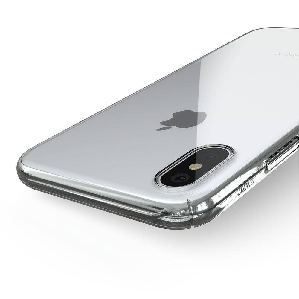 ZERO5 iPhoneX 7 1000x1000 Coque ZERO 5 pour iPhone 6/6S, 7, 8, X & Plus (rigide, transparente et ultra fine de 0.5mm)