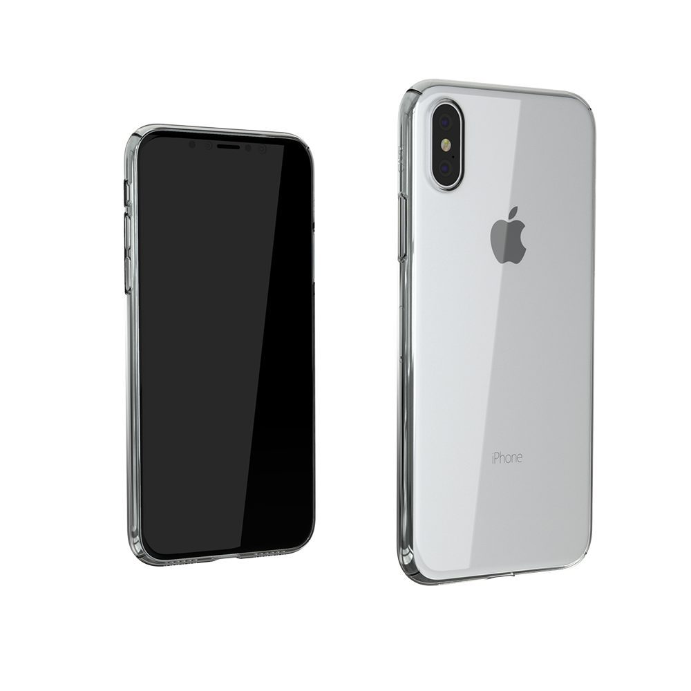 coque solide transparente iphone x
