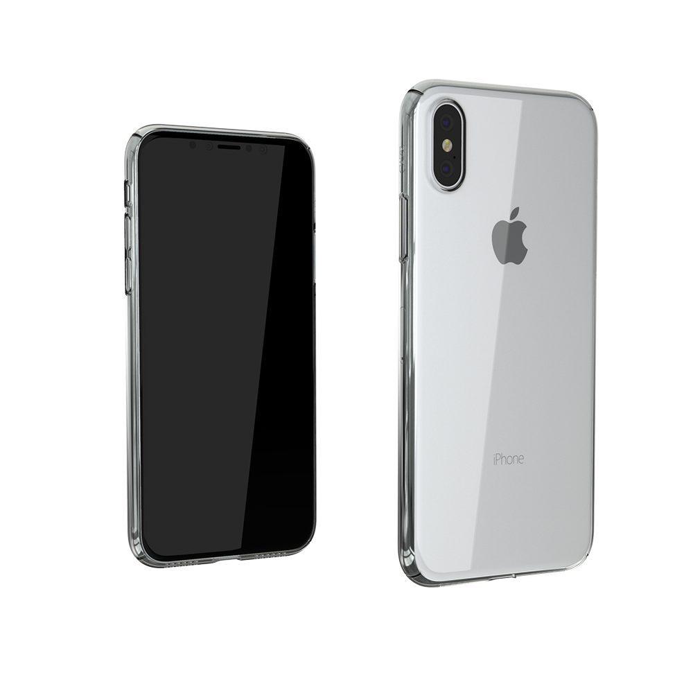 ZERO5 iPhoneX 8 1000x1000 Coque ZERO 5 pour iPhone 6/6S, 7, 8, X & Plus (rigide, transparente et ultra fine de 0.5mm)
