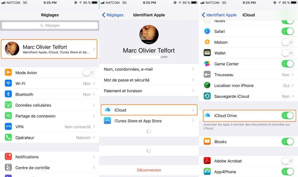 iCloud Drive Activer 1000x595 Guide : comment utiliser iCloud Drive sur iPhone, iPad, Mac et Windows