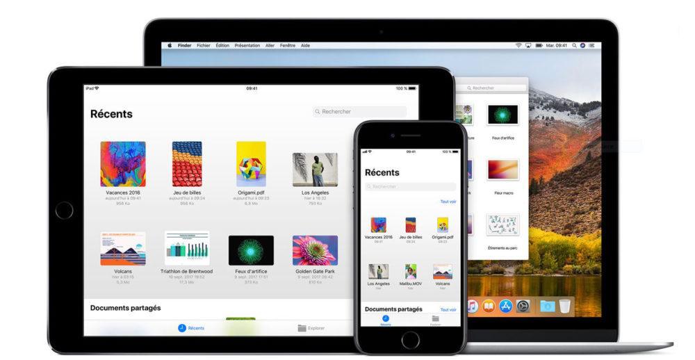 iCloud Drive iPhone iPad Mac 1000x518 Guide : comment utiliser iCloud Drive sur iPhone, iPad, Mac et Windows