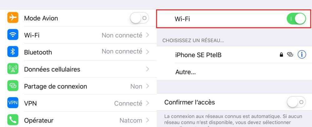 iOS 11 Bluetooth WiFi 1000x408 Astuce iOS 11 : comment désactiver totalement le Wi Fi et le Bluetooth