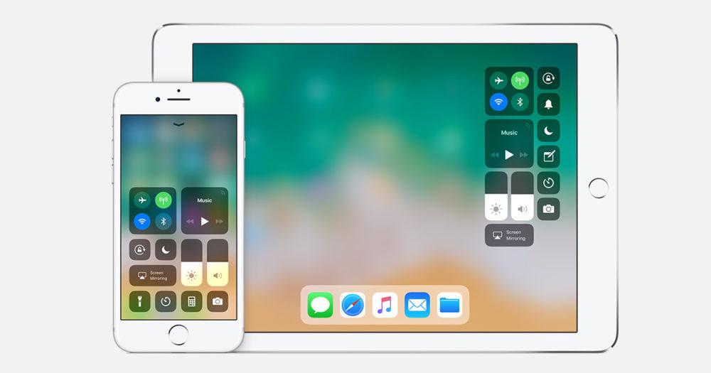 iOS 11 Centre de Controle 1000x525 Apple relâche iOS 11.4.1 bêta 4 pour iPhone, iPad et iPod touch