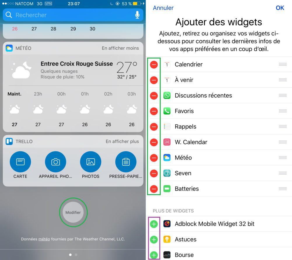 iOS Vie Privee Widgets Privacy 1000x890 8 astuces pour mieux protéger votre vie privée sur iPhone