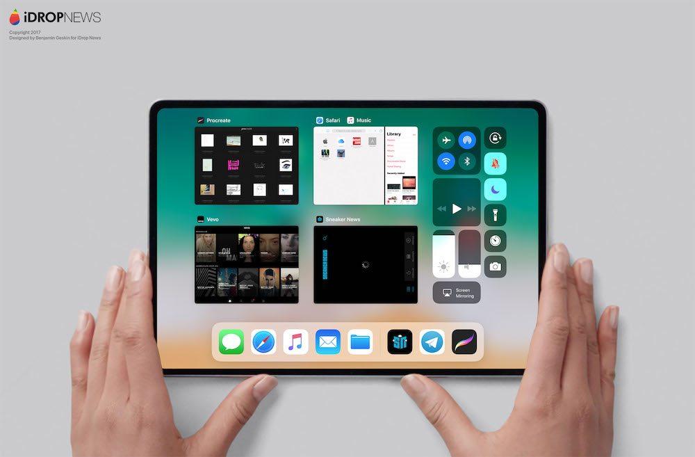 iPad 2018 Concept 2 iPad Pro de 2018 : premier concept inspiré des dernières rumeurs