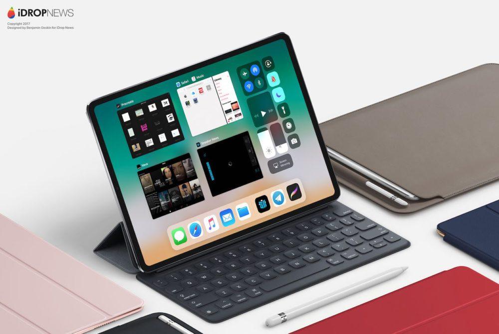 iPad 2018 Concept 3 iPad Pro de 2018 : premier concept inspiré des dernières rumeurs