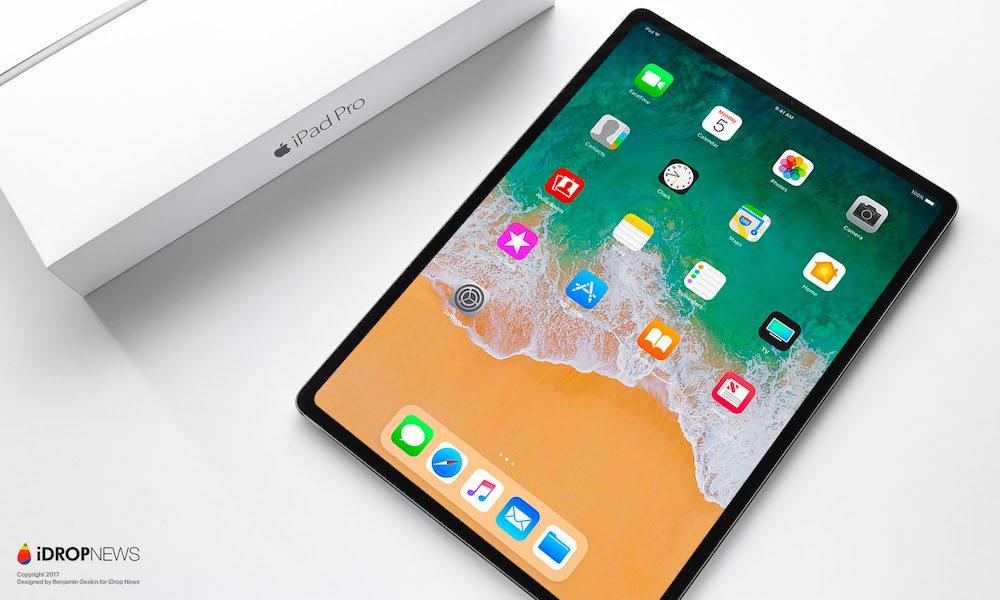 iPad 2018 Concept 7 iPad Pro de 2018 : premier concept inspiré des dernières rumeurs