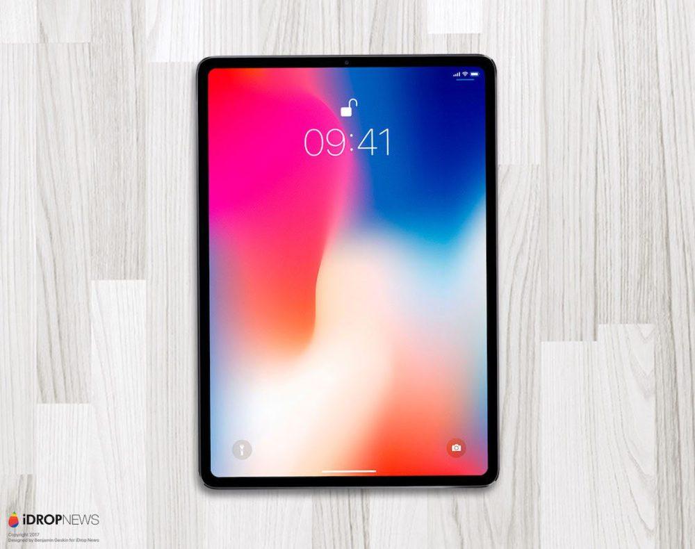 iPad 2018 Concept iPad Pro de 2018 : premier concept inspiré des dernières rumeurs