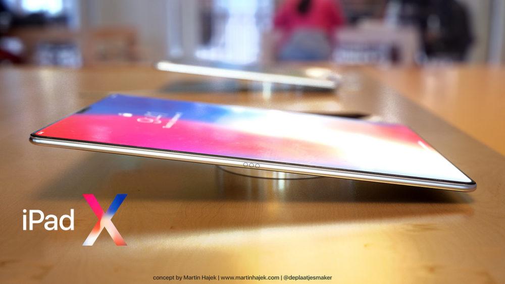iPad X Concept 4 iPad X : un magnifique concept signé Martin Hajek