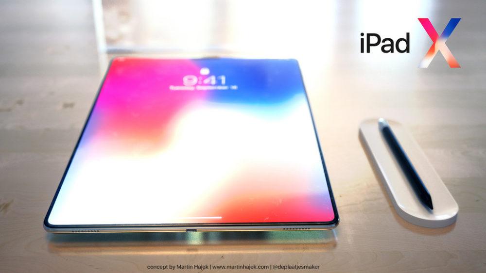 iPad X Concept iPad X : un magnifique concept signé Martin Hajek