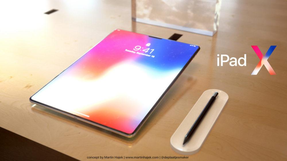 iPad X Concept 15 iPad de 2018 : processeur A11X Bionic de 8 cœurs gravé en 7 nm ?
