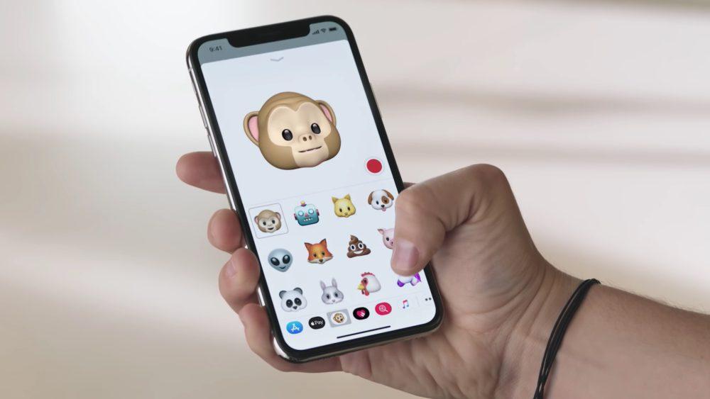 iPhone X Animojis Apple 1000x563 Tuto iPhone X : comment créer, sauvegarder et partager les Animojis