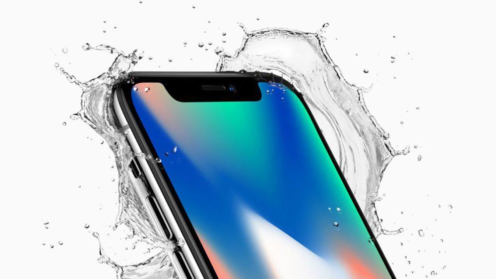 iPhone X Eau 1000x563 Voici quelques astuces pour bien maîtriser liPhone X