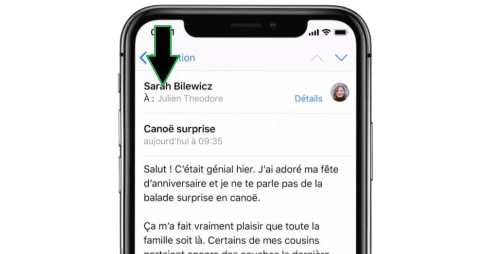 iPhone X Gestes Centre de Notifications 1000x523 Voici quelques astuces pour bien maîtriser liPhone X