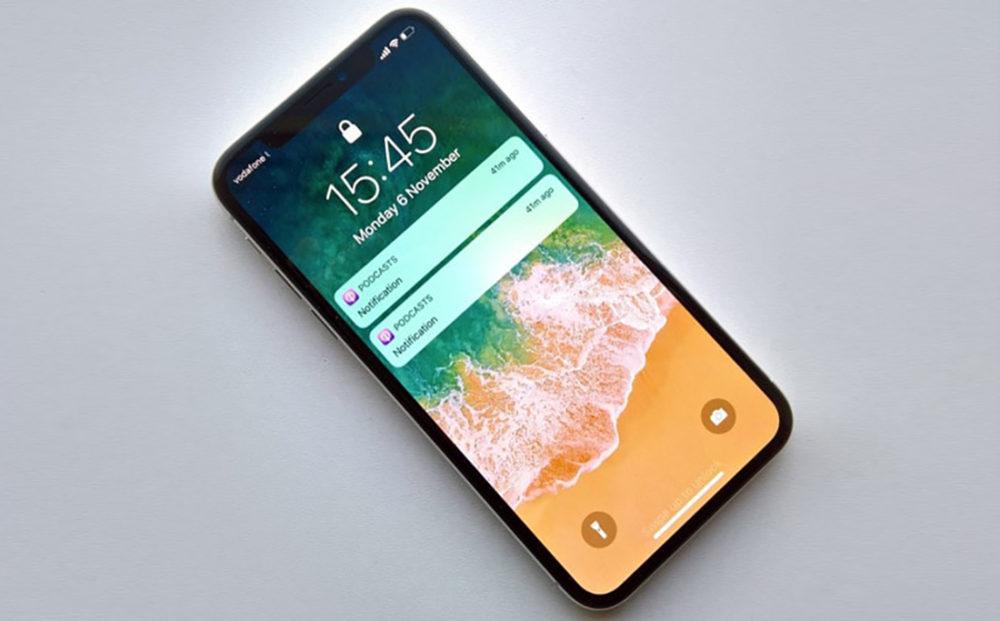 iPhone X Notification Ecran Verouille 1000x621 Astuce iPhone X : toujours afficher les aperçus de notifications sur lécran de verrouillage