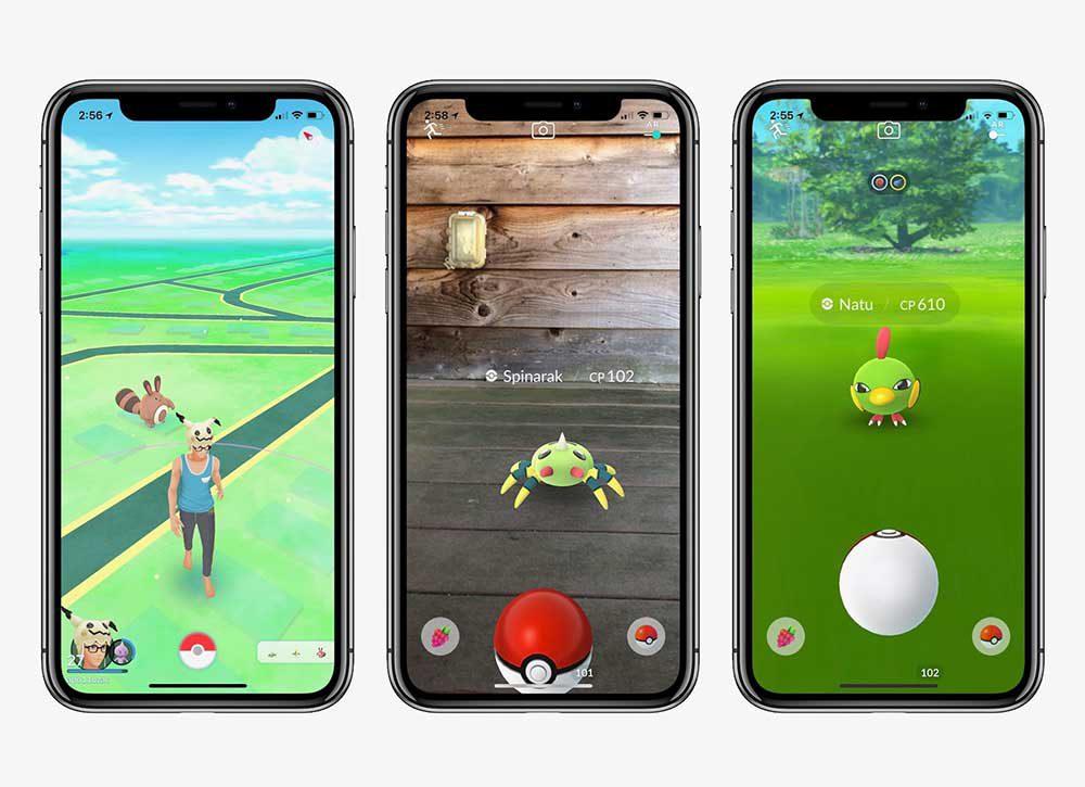 pokemon go iphone x 1000x725 Pokémon Go : le jeu ne sera plus supporté sur les appareils 32 bits