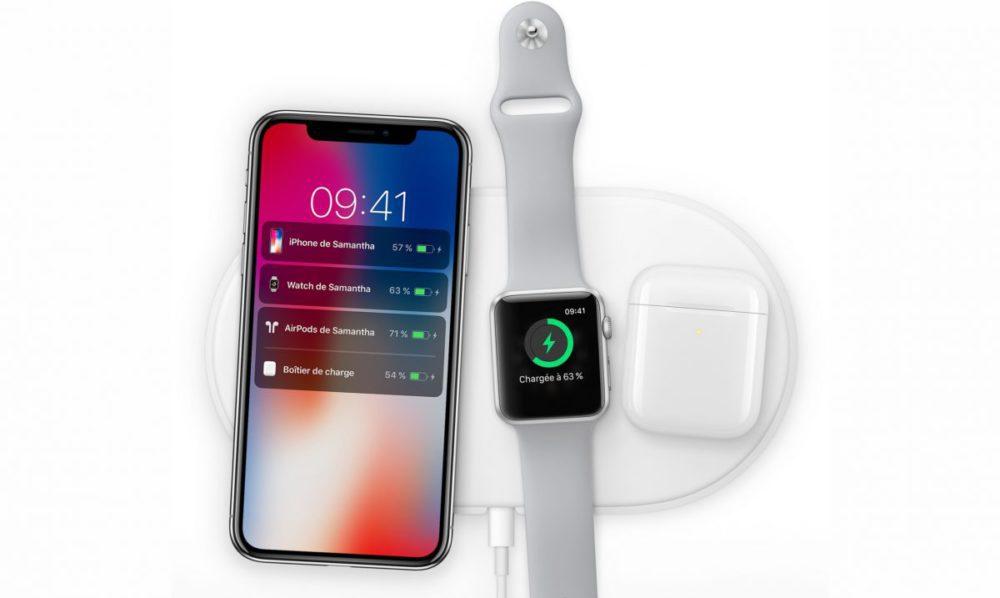 AirPower Chargeur Sans Fil Apple 1000x598 Un chargeur sans fil moins ambitieux que lAirPower serait en préparation chez Apple