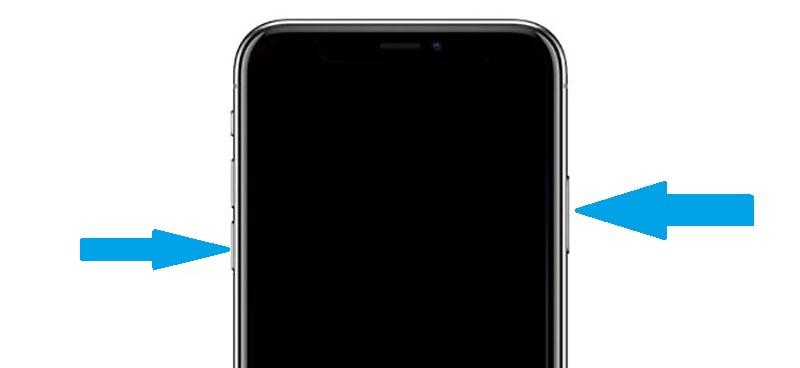 iPhone X DFU Mode Bouton Allumage Volume Bas Tutoriel : comment mettre un iPhone 8, 8 Plus ou un iPhone X en mode DFU