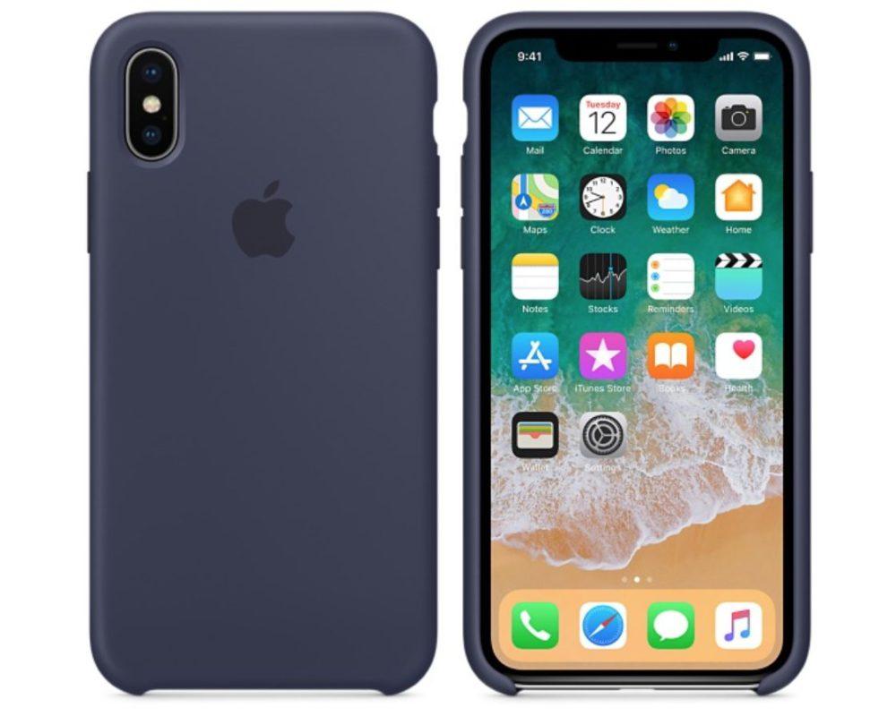 iPhone X Nouvelles Coques Apple iPhone X : nouvelles coques en silicone disponibles chez Apple