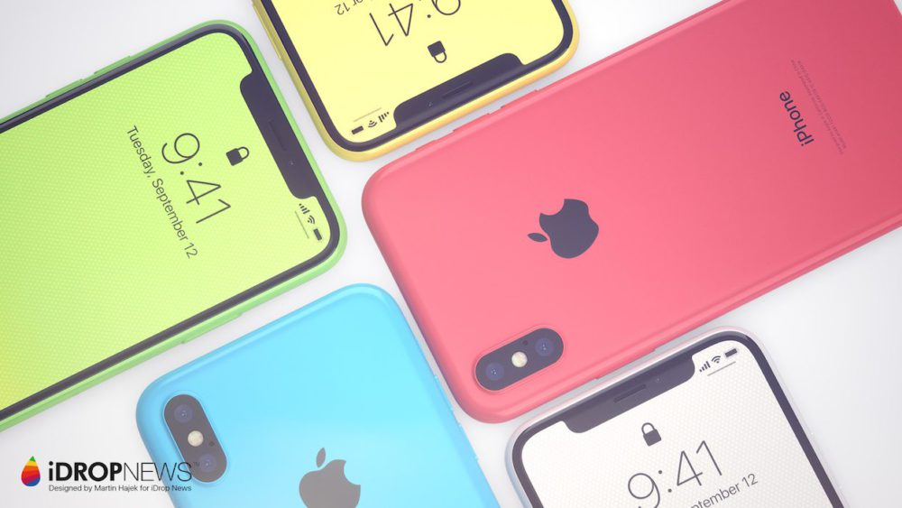 iPhone Xc Concept 5 Concept : voici liPhone Xc, une combinaison diPhone X et diPhone 5c