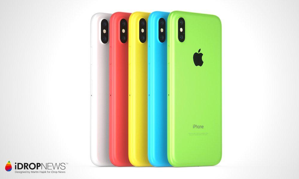 iPhone Xc Concept Concept : voici liPhone Xc, une combinaison diPhone X et diPhone 5c