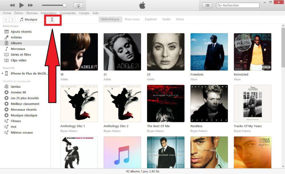 iTunes Downgrade iOS 1000x613 Tuto : comment passer ou downgrade sur iOS 11.1.2 en attendant le jailbreak