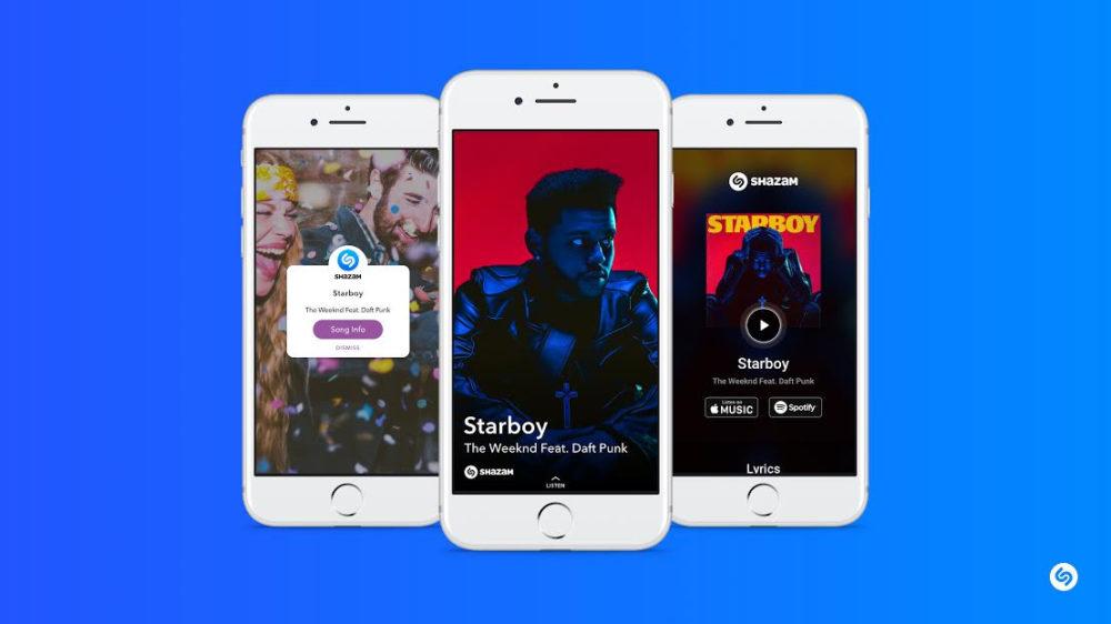 snapchat Apple rachète Shazam, lapplication de reconnaissance de musique !