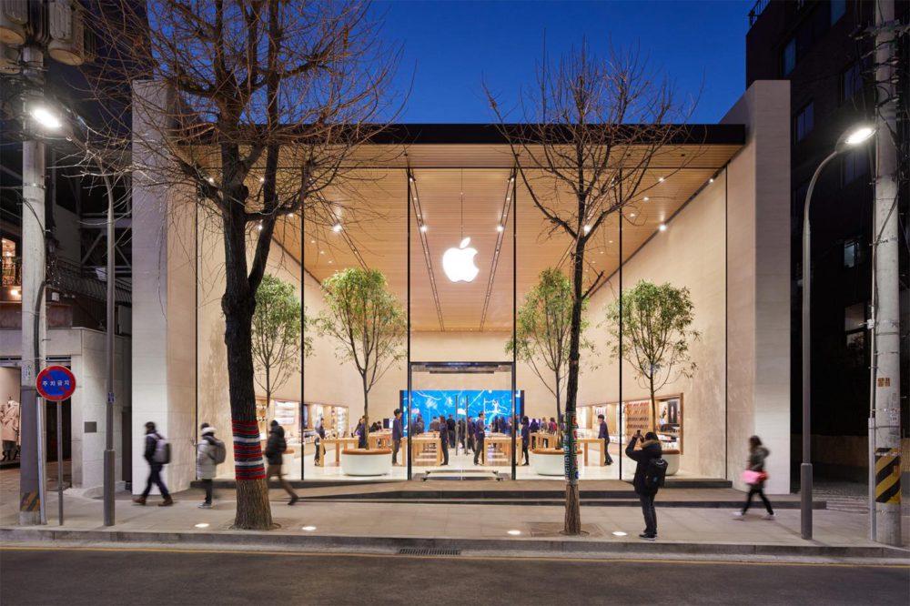 Apple Store Seoul Apple Store en Corée du Sud : Apple publie de nouvelles photos