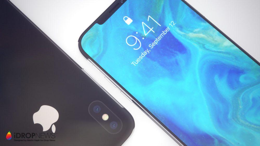 Concept iPhone XI 2 Un concept diPhone XI avec double carte SIM et encoche réduite