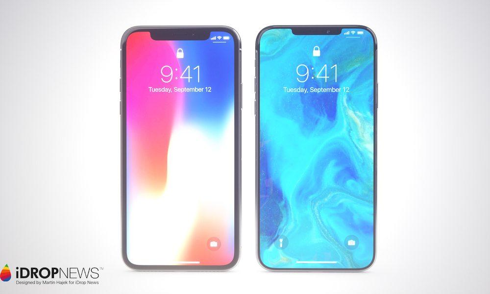 Concept iPhone XI Un concept diPhone XI avec double carte SIM et encoche réduite