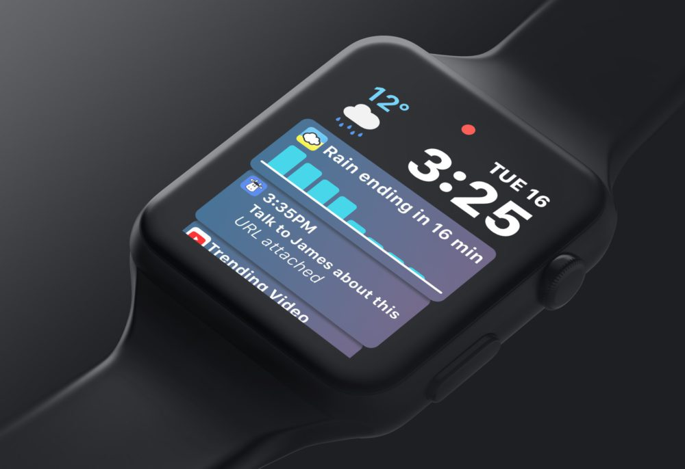 watch os 5 concept Concept : voici à quoi pourrait ressembler watchOS 5