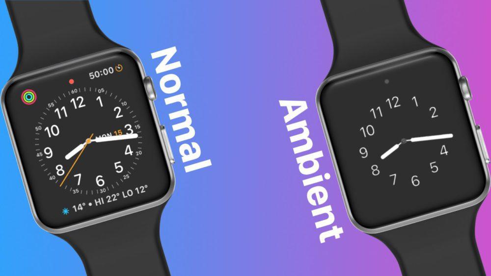 Concept : voici à quoi pourrait ressembler watchOS 5
