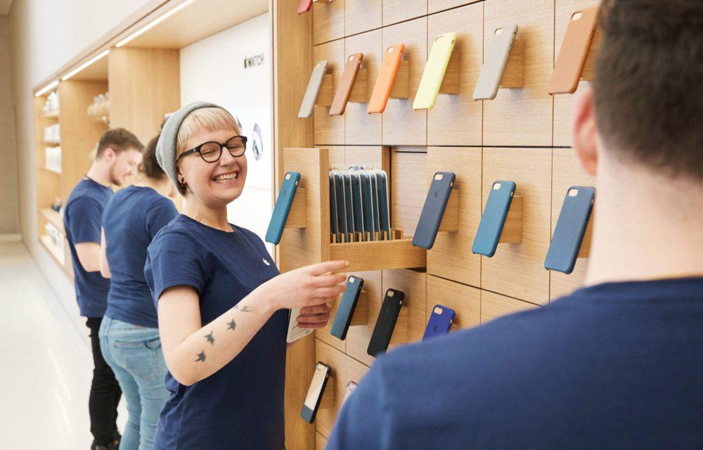 Apple Store Autriche 4 1000x640 Apple va ouvrir de nouveaux Apple Store physiques, en dépit des ventes en ligne boostées par le COVID 19