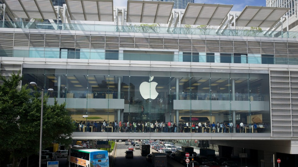 Apple Store Hong Kong Usines rouvertes, mais un bilan financier affecté