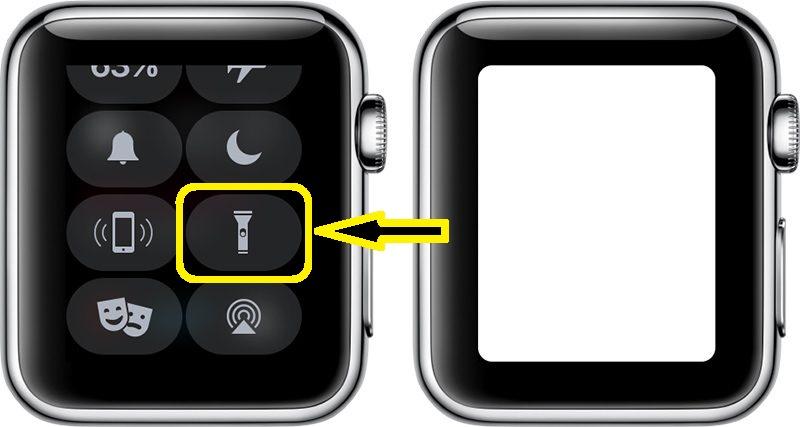 Apple Watch Lampe Torche Ecran Comment utiliser votre Apple Watch comme lampe torche