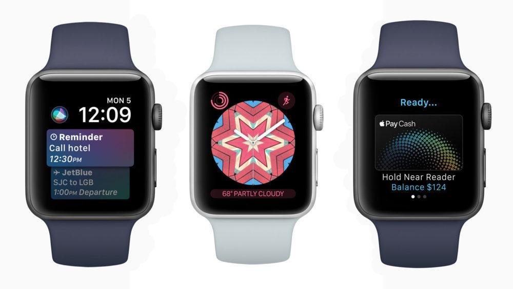 Apple Watch watchOS 4 1000x563 watchOS 4.3.2 bêta 3 est disponible pour lApple Watch