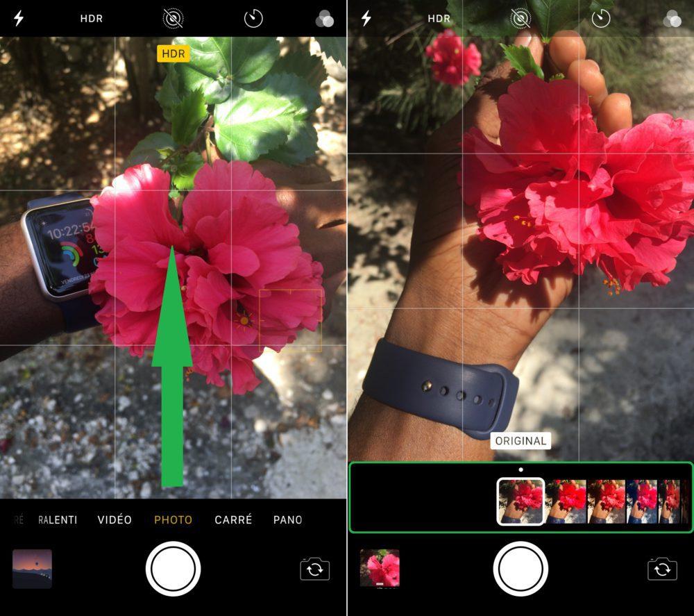 Astuce iOS 11 Ajouter Filtres Photo 1000x887 6 astuces sur iOS 11 que vous ignoriez peut être