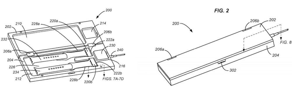 Brevet Chargeur Apple Watch Apple brevette un boîtier de recharge pour Apple Watch
