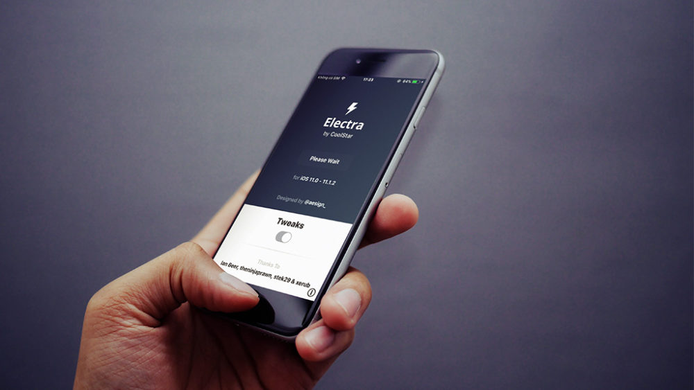 Electra Jailbreak iOS 11 : Electra 1.0.4 disponible