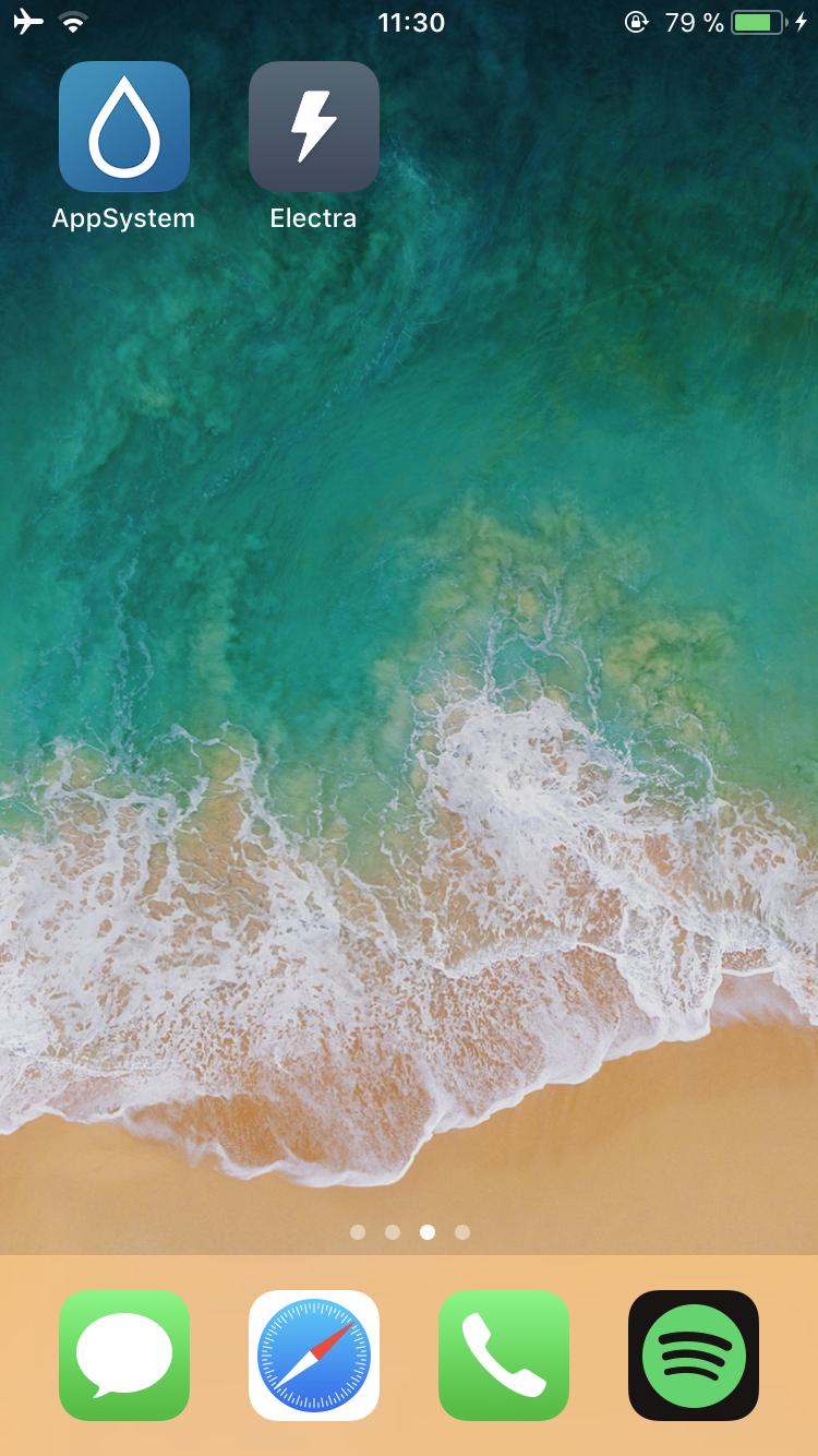 IMG 2750 Tutoriel Jailbreak iOS 11 avec loutil Electra (installation de Cydia)