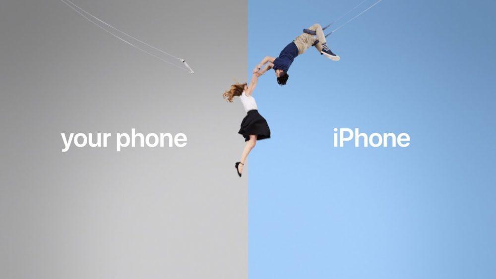 Publicite iPhone Nouvelles publicités dApple pour attirer les utilisateurs dAndroid