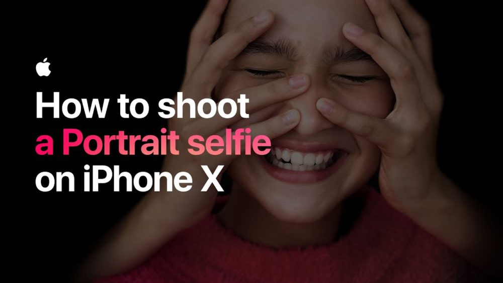 Tuto Mode Portrait Apple publie 3 nouvelles vidéos pour les selfies en Mode Portrait et les Live Photos