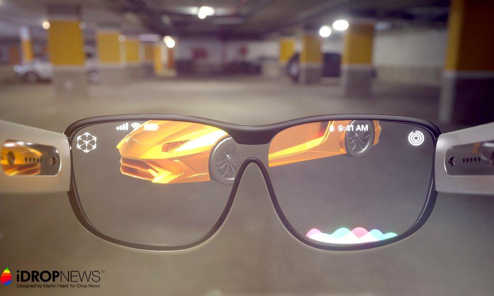 iGlass Concept 1 Concept : les iGlass dApple (lunettes AR) vues par Martin Hajek