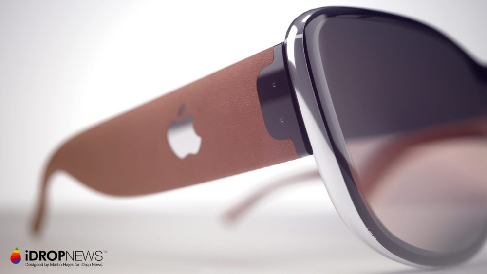 iGlass Concept 4 Concept : les iGlass dApple (lunettes AR) vues par Martin Hajek