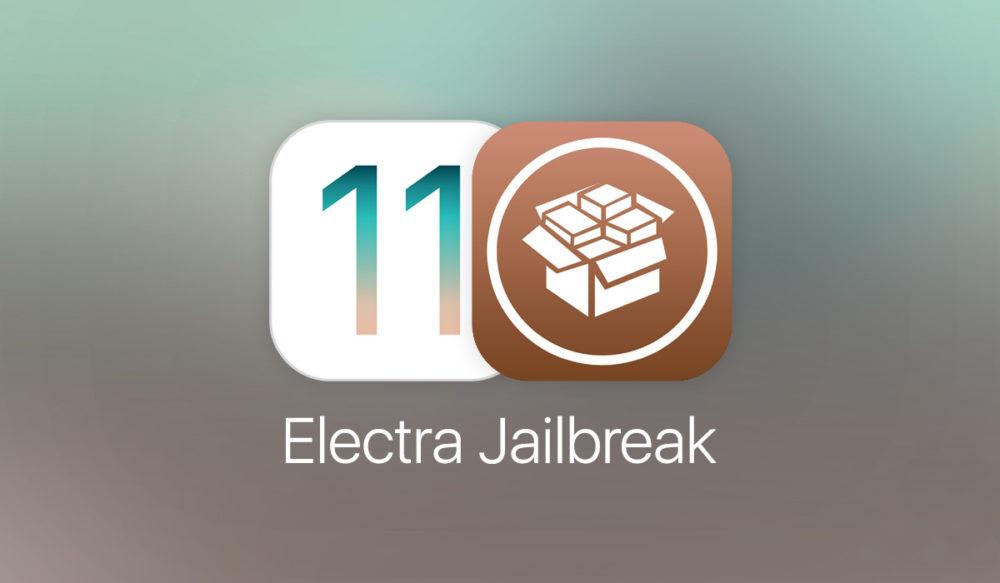 iOS 11 jailbreak electra 1200 Jailbreak iOS 11 : Electra 1.0.3 est disponible au téléchargement