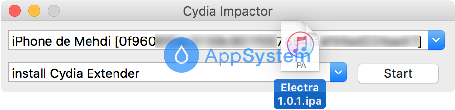 test Tutoriel Jailbreak iOS 11 avec loutil Electra (installation de Cydia)