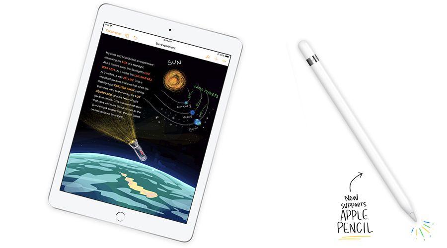 voici le prix du nouvel ipad en euro compatible apple pencil appsystem. Black Bedroom Furniture Sets. Home Design Ideas